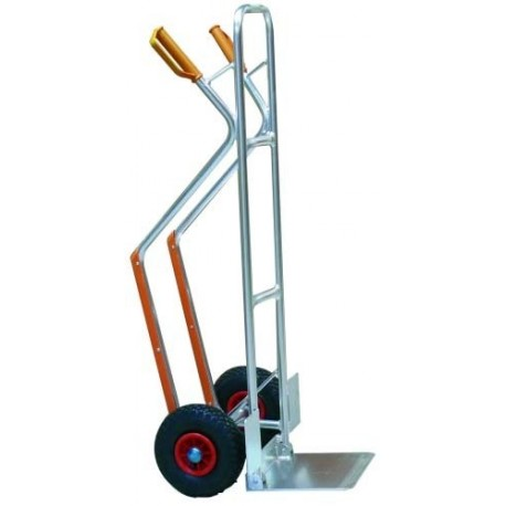Carro aluminio pala plegable ruedas neum ticas 280 idme s l - Carro plegable aluminio ...