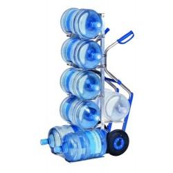 Carro de aluminio 7 bidones de agua