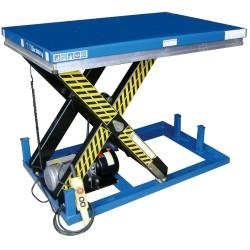 Mesa elev. eléctr. 2000 kg, 1.300x1,000 mm